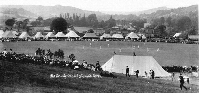 photo of Dover Cricket Ground, from the Hollingsbee collection