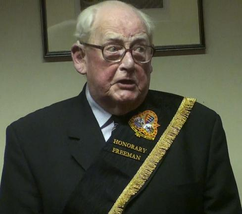 John H Turnpenny, 87-year-old retired businessman and a long-serving member of The Dover Society, has played a major role in the life of the town over the last 60 years.