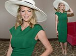 LOUISVILLE, KY - MAY 07:  Model Kate Upton is seen around the 142nd Kentucky Derby at Churchill Downs on May 7, 2016 in Louisville, Kentucky.  (Photo by Gustavo Caballero/Getty Images for Churchill Downs)