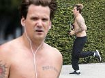 Sean Stewart goes for a jog down Sunset Blvd shirtless and shows off his tattoos\n\nPictured: Sean Stewart\nRef: SPL1277385  070516  \nPicture by: LA Photo Lab\n\nSplash News and Pictures\nLos Angeles: 310-821-2666\nNew York: 212-619-2666\nLondon: 870-934-2666\nphotodesk@splashnews.com\n