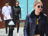 Zayn Malik and Gigi Hadid were spotted out in Soho on Saturday as they grabbed lunch together. Its the first time they've been spotted since they walked the red carpet of the Met Gala together. They were a stylish pair on their date Saturday, with Zayn wearing his own Merchandise, black jeans and Black boots. Gigi Wore a black Leather Jacket, a crop top and black leggings. \n\nPictured: Zayn Malik, Gigi Hadid\nRef: SPL1277638  070516  \nPicture by: 247PAPS.TV / Splash News\n\nSplash News and Pictures\nLos Angeles: 310-821-2666\nNew York: 212-619-2666\nLondon: 870-934-2666\nphotodesk@splashnews.com\n