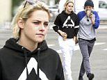 EXCLUSIVE TO INF.\nMay 7, 2016: Kristen Stewart seen out with her ex-girlfriend Alicia Cargile in Silver Lake in Los Angeles, California following reports that she has split with Stephanie ìSokoî Sokolinski (not pictured).\nMandatory Credit: Chiva/INFphoto.com Ref: infusla-276