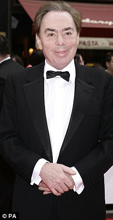 Legal battle: Andrew Lloyd Webber's company painted the theatre for his West End show Love Never Dies