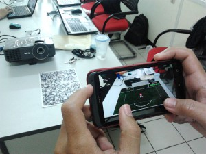 Augmented Reality Mobile Games