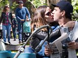 EXCLUSIVE: May 8th 2016: Rose Byrne and Bobby Cannavale seen kissing on Mothers Day in Washington square park, New York City USA. \n\nPictured: Rose Byrne, Bobby Cannavale and Rocco\nRef: SPL1277776  080516   EXCLUSIVE\nPicture by: Splash News\n\nSplash News and Pictures\nLos Angeles: 310-821-2666\nNew York: 212-619-2666\nLondon: 870-934-2666\nphotodesk@splashnews.com\n