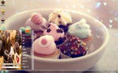 美味甜品主题桌面