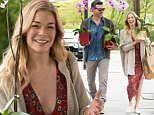 *EXCLUSIVE* Calabasas, CA - It looks like LeAnn Rimes is in good hands this Mother's Day, as Eddie Cibrian is still able to make her smile. LeAnn was seen cracking up quite a few times as the lovebirds enjoyed Mother's day weekend at the Calabasas Farmer's Market. It looks like LeAnn is playing nice sending the boys off to their mom, Brandi Glanville's house, to celebrate the Mother's Day weekend.\nAKM-GSI       May 7, 2016\nTo License These Photos, Please Contact :\nSteve Ginsburg\n(310) 505-8447\n(323) 423-9397\nsteve@akmgsi.com\nsales@akmgsi.com\nor\nMaria Buda\n(917) 242-1505\nmbuda@akmgsi.com\nginsburgspalyinc@gmail.com