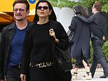 08 May 2016 - West Hollywood, CA - USA **STRICTLY AVAILABLE FOR UK AND GERMANY USE ONLY** *EXCLUSIVE ALL ROUND PICTURES*  U2 singer, Bono, and his wife Ali Hewson still in sync after 34 years together during Mother's day in WeHo.  The lovey-dovey couple's stride appeared to be in sync as they held each other as they walked down Sunset Blvd. BYLINE MUST READ : AKM-GSI-XPOSURE ***UK CLIENTS - PICTURES CONTAINING CHILDREN PLEASE PIXELATE FACE PRIOR TO PUBLICATION *** *UK CLIENTS MUST CALL PRIOR TO TV OR ONLINE USAGE PLEASE TELEPHONE 0208 344 2007*