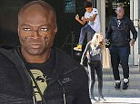 *EXCLUSIVE* Beverly Hills, CA - Singer, Seal, spotted wearing black eyeliner, as he comes out of Nike flagship store with his kids, Henry and Lou. AKM-GSI       May 9, 2016 To License These Photos, Please Contact : Steve Ginsburg (310) 505-8447 (323) 423-9397 steve@akmgsi.com sales@akmgsi.com or Maria Buda (917) 242-1505 mbuda@akmgsi.com ginsburgspalyinc@gmail.com
