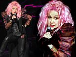 NASHVILLE, TN - MAY 09:  Cyndi Lauper performs opening night of her 2016 concert Tour at Ryman Auditorium on May 9, 2016 in Nashville, Tennessee.  (Photo by Rick Diamond/Getty Images)