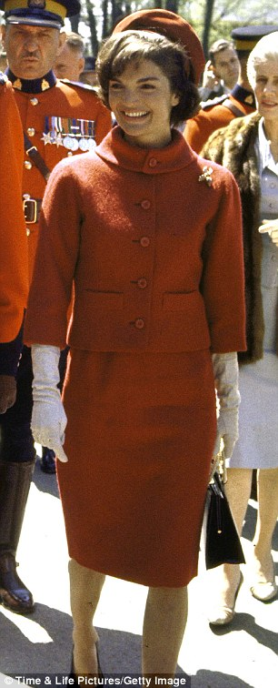 Glamour epitomized: Oleg Cassini is  most famous for designing Jackie O's glamorous skirt suits during her years as First Lady