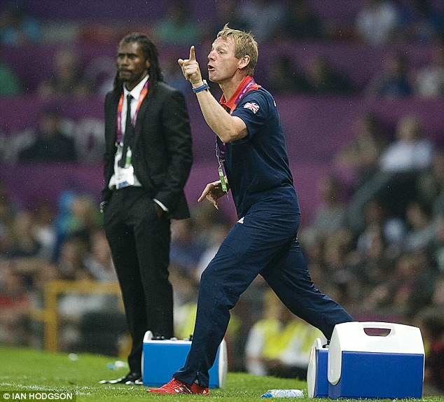 Boss: Pearce managed the Team GB football team at the London 2012 Olympic Games