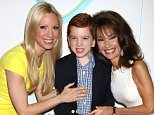 NEW YORK, NY - MAY 09:  Susan Lucci (R) with daughter Liza Huber and grandson Brendan Hesterberg attend 15th Annual Women Who Care Awards Luncheon at Cipriani 42nd Street on May 9, 2016 in New York City.  (Photo by Laura Cavanaugh/FilmMagic)