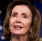 House Minority Leader Nancy Pelosi of Calif., accompanied by other House Democratic leaders, speaks at a news conference on Capitol Hill in Washington, Wednesday, May 11, 2016, to discuss how Donald Trumpís rhetoric echoes the long-standing policy positions of House Republicans. (AP Photo/Andrew Harnik)