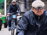 NEW YORK, NY - MAY 10:  Leonardo DiCaprio seen riding bicycle on May 10, 2016 in New York City.  (Photo by Team GT/GC Images)