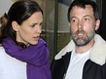***MUST READ LEGAL NOTICE IN NOTES FIELD***Ben Affleck and Jennifer Garner arrive to London st Pankras from Paris with their children\n8 May 2016.\nPlease byline: Vantagenews.com\nUK clients should be aware children's faces may need pixelating.