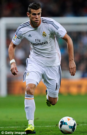 Troubled start: Bale has played just 132 minutes for Madrid since his £86million move from Tottenham