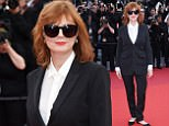 Mandatory Credit: Photo by Matt Baron/BEI/Shutterstock (5682156u)\nSusan Sarandon\n'Cafe Society' premiere and opening ceremony, 69th Cannes Film Festival, France - 11 May 2016\n