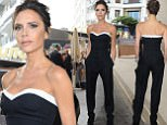 11 May 2016.\nVictoria Beckham seen leaving the Martinez Hotel to head to tonights opening night at Cannes Film Festival. \nCredit: GoffPhotos.com   Ref: KGC-102/195\n