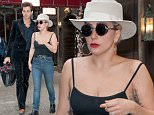 EXCLUSIVE: Lady Gaga has dinner with Mark Ronson in empty Joanne Trattoria restaurant. Almost 16 months since photographed with Taylor Kinney.  Pictured: Lady Gaga and Mark Ronson Ref: SPL1278886  100516   EXCLUSIVE Picture by: @PapCultureNYC / Splash News  Splash News and Pictures Los Angeles: 310-821-2666 New York: 212-619-2666 London: 870-934-2666 photodesk@splashnews.com