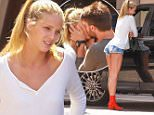 *EXCLUSIVE* Beverly Hills, CA - Patrick Schwarzenegger and his blonde model, Abby Champion, seen exiting Montage Beverly Hills after lunch. One of the Valet guys couldn't help but turn his head to take a closer look at the blonde's features, as she waited outside the car.\nAKM-GSI       May 11, 2016\nTo License These Photos, Please Contact :\nSteve Ginsburg\n(310) 505-8447\n(323) 423-9397\nsteve@akmgsi.com\nsales@akmgsi.com\nor\nMaria Buda\n(917) 242-1505\nmbuda@akmgsi.com\nginsburgspalyinc@gmail.com