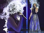 Rykka of Switzerland performs the song 'The last of our kindt' during a dress rehearsal for the second semifinal at the Eurovision Song Contest in Stockholm, Sweden, Wednesday, May 11, 2016. (AP Photo/Martin Meissner)