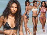 eURN: AD*205661534  Headline: FAMEFLYNET - Victoria's Secret Models Model A Number Of Different Bathing Suits On The Beach On Miami Caption: Picture Shows: Jasmine Tookes  May 10, 2016    Victoria's Secret models pose for a photo shoot in Miami, Florida. The girls were under an awning and modeled a variety of clothes and then moved to the water to show off a number of different bikinis and swimsuits.     Non-Exclusive  UK RIGHTS ONLY    Pictures by : FameFlynet UK © 2016  Tel : +44 (0)20 3551 5049  Email : info@fameflynet.uk.com Photographer: 922 Loaded on 11/05/2016 at 03:05 Copyright:  Provider: FameFlynet.uk.com  Properties: RGB JPEG Image (25181K 909K 27.7:1) 2865w x 3000h at 72 x 72 dpi  Routing: DM News : GeneralFeed (Miscellaneous) DM Showbiz : SHOWBIZ (Miscellaneous) DM Online : Online Previews (Miscellaneous)  Parking: