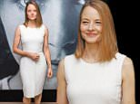 """US actress, director and producer Jodie Foster poses at the Majestic hotel on May 12, 2016 in Cannes. At the 69th Cannes Film Festival, Foster presents her latest movie """"Money Monster"""", starring Julia Roberts and George Clooney.  / AFP PHOTO / Laurent EMMANUELLAURENT EMMANUEL/AFP/Getty Images"""