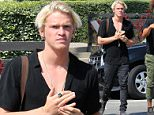 *EXCLUSIVE* Los Angeles, CA - Australian singer/songwriter Cody Simpson is seen out with friends in Venice photographing art on a classic 35mm Canon camera!\nAKM-GSI       May 11, 2016\nTo License These Photos, Please Contact :\nSteve Ginsburg\n(310) 505-8447\n(323) 423-9397\nsteve@akmgsi.com\nsales@akmgsi.com\nor\nMaria Buda\n(917) 242-1505\nmbuda@akmgsi.com\nginsburgspalyinc@gmail.com