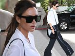 12 May 2016. May 12, 2016 - Cannes, FRANCE - Victoria Beckham leaving Martinez Hotel during 69th Cannes Film Festival. Credit: GoffPhotos.com   Ref: KGC-149/37096 **UK Sales Only**