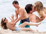 Picture Shows: Halston Sage, Taylor John Smith  May 11, 2016    Stars are spotted filming scenes for 'You Get Me' on the beach in San Pedro, California.    Non Exclusive  UK RIGHTS ONLY    Pictures by : FameFlynet UK © 2016  Tel : +44 (0)20 3551 5049  Email : info@fameflynet.uk.com