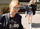 Mandatory Credit: Photo by Startraks Photo/REX/Shutterstock (5682752e)\nGigi Hadid\nGigi Hadid out and about, New York, America - 11 May 2016\nGigi Hadid Sighting in Soho\n
