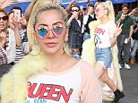 Mandatory Credit: Photo by MediaPunch/REX/Shutterstock (5682788a)\nLady Gaga\nLady Gaga out and about, New York, America - 11 May 2016\n