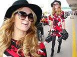 Los Angeles, CA - Paris Hilton arrives back in Los Angeles at LAX airport after attending the FIT's Gala last night with her sister Nicky and brother Barron. \n \nAKM-GSI   May 10, 2016\nTo License These Photos, Please Contact :\nSteve Ginsburg\n(310) 505-8447\n(323) 423-9397\nsteve@akmgsi.com\nsales@akmgsi.com\nor\nMaria Buda\n(917) 242-1505\nmbuda@akmgsi.com\nginsburgspalyinc@gmail.com
