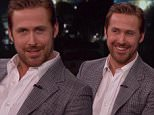 Ryan Gosling makes an appearance on Jimmy Kimmel Live