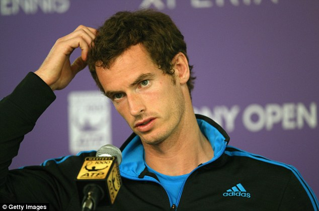 Differences: Murray says he wanted more time of Lendl than the former No 1 was willing to give