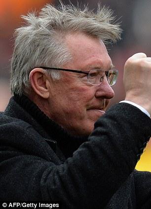 Winning ways: Keane, who is now a pundit, spent 12 seasons at United under the stewardship of Ferguson