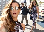 NEW YORK, NY - MAY 12:  Actress Kate Beckinsale is seen walking in Midtown on May 12, 2016 in New York City.  (Photo by Raymond Hall/GC Images)