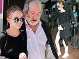 NICE, FRANCE - MAY 12:  Actress Lily-Rose Depp arrives at Nice airport during the annual 69th Cannes Film Festival at Nice Airport on May 12, 2016 in Nice, France.  (Photo by Marc Piasecki/GC Images)
