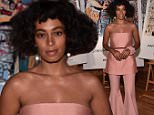 BROOKLYN, NY - MAY 12:  Singer Solange Knowles attends the launch of the Jean-Michel Basquiat for Etnia Barcelona Collection on May 12, 2016 in Brooklyn, New York.  (Photo by Bryan Bedder/Getty Images for Etnia Barcelona )