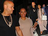 13 May 2016 - London - uk   Stephen Belafonte and  Melanie Brown Arrive at Fat Tony - photocall and party in London   BYLINE MUST READ : EBELE / XPOSUREPHOTOS.COM  ***UK CLIENTS - PICTURES CONTAINING CHILDREN PLEASE PIXELATE FACE PRIOR TO PUBLICATION ***  **UK CLIENTS MUST CALL PRIOR TO TV OR ONLINE USAGE PLEASE TELEPHONE 44 208 344 2007**