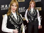 Christina Hendricks attends the 'Hap and Leonard' photocall at Luchana Theater\nFeaturing: Christina Hendricks\nWhere: Madrid, Spain\nWhen: 12 May 2016\nCredit: Sean Thorton/WENN.com\n**Not available for publication in Spain, France**