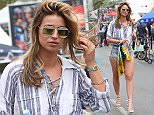 CANNES, FRANCE - MAY 13:  Ferne McCann seen in Cannes on May 13, 2016 in Cannes, France.  (Photo by Neil Mockford/Alex Huckle/GC Images)