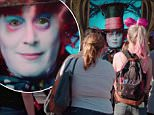 johnny depp mad hatter alice through the looking glass