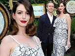 LOS ANGELES, CA - MAY 12:  Actress Anne Hathaway attends Disney's Alice Through the Looking Glass event on May 12, 2016 at Roseark in Los Angeles California.  Top designers showcased whimsical fashions, accessories and beauty collections inspired by the upcoming film.  (Photo by John Sciulli/Getty Images for Disney Consumer Products & Interactive Media)