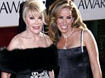 Mandatory Credit: Photo By PETER BROOKER/REX FEATURES Joan and Melissa Rivers GOLDEN GLOBE AWARDS, BEVERLY HILTON HOTEL, LOS ANGELES, AMERICA - 16 JAN 2005