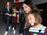 Los Angeles, CA - Jessica Alba and her daughter Honor Marie Warren hold hands as they make their way through LAX. The mommy daughter duo is back in L.A. after a visit to New York. Jessica and Honor looked cute in matching white velcro strap shoes. AKM-GSI         May 12, 2016 To License These Photos, Please Contact : Steve Ginsburg (310) 505-8447 (323) 423-9397 steve@akmgsi.com sales@akmgsi.com or Maria Buda (917) 242-1505 mbuda@akmgsi.com ginsburgspalyinc@gmail.com