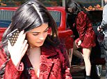 kylie jenner red