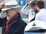 Steven Spielberg and wife Kate Capshaw with children in the Saint Laurent du Var port today going on board the Spielberg yacht Seven Seas and heading to Cannes\n\nPictured: steven spielberg\nRef: SPL1279102  120516  \nPicture by: Splash News\n\nSplash News and Pictures\nLos Angeles: 310-821-2666\nNew York: 212-619-2666\nLondon: 870-934-2666\nphotodesk@splashnews.com\n