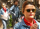 EXCLUSIVE: Keri Russell was seen showing her baby bump and eating a protein bar as she stepped out in Brooklyn New York with her boyfriend Matthew Rhys.\n\nPictured: Keri Russell and Matthew Rhys\nRef: SPL1275776  120516   EXCLUSIVE\nPicture by: Splash News\n\nSplash News and Pictures\nLos Angeles: 310-821-2666\nNew York: 212-619-2666\nLondon: 870-934-2666\nphotodesk@splashnews.com\n